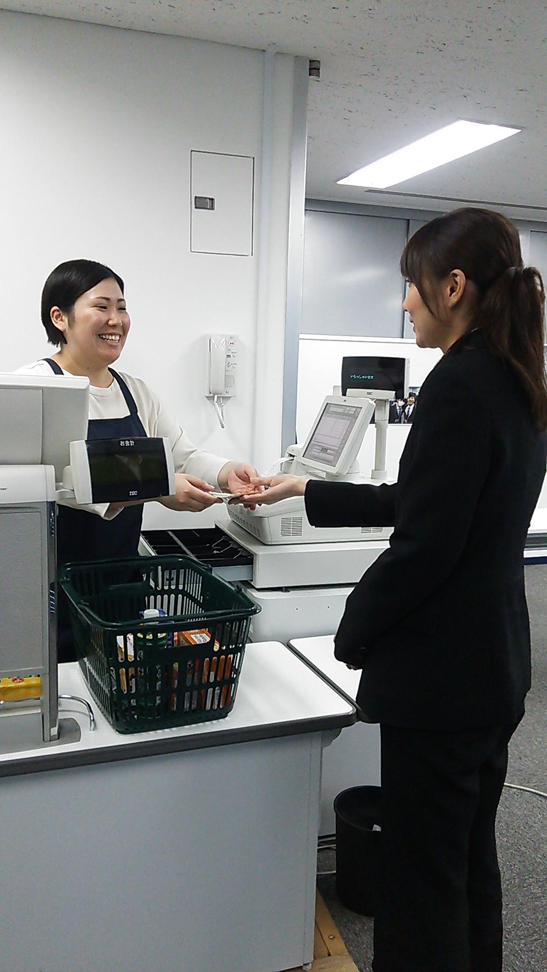 はじめてのレジ 研修内容大公開 ~実技編~ イメージ