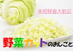【国府津】野菜カット★時給1150円★食品工場勤務 イメージ