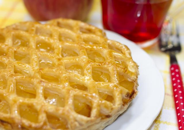 食物繊維の宝庫☆あま~い♪スイートポテトアップルパイはいかがですか? イメージ